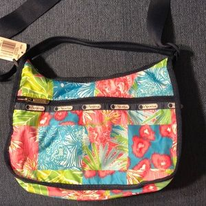 NWT LeSportsac Classic Hobo Prrefct Patch